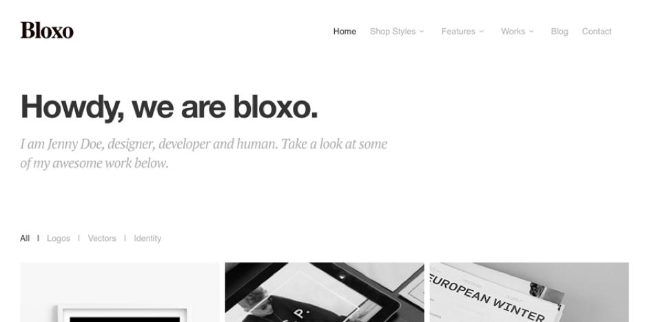 Bloxo Theme