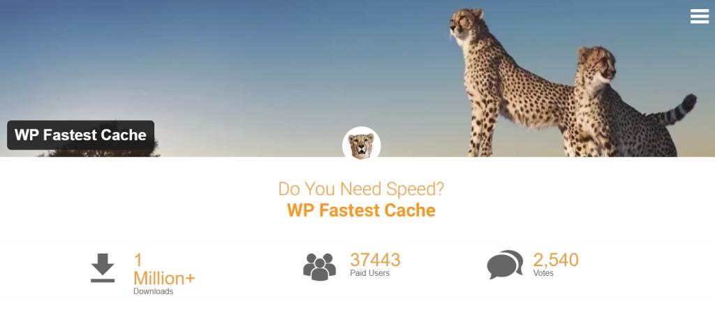 wp fastest cache wordpress caching plugin