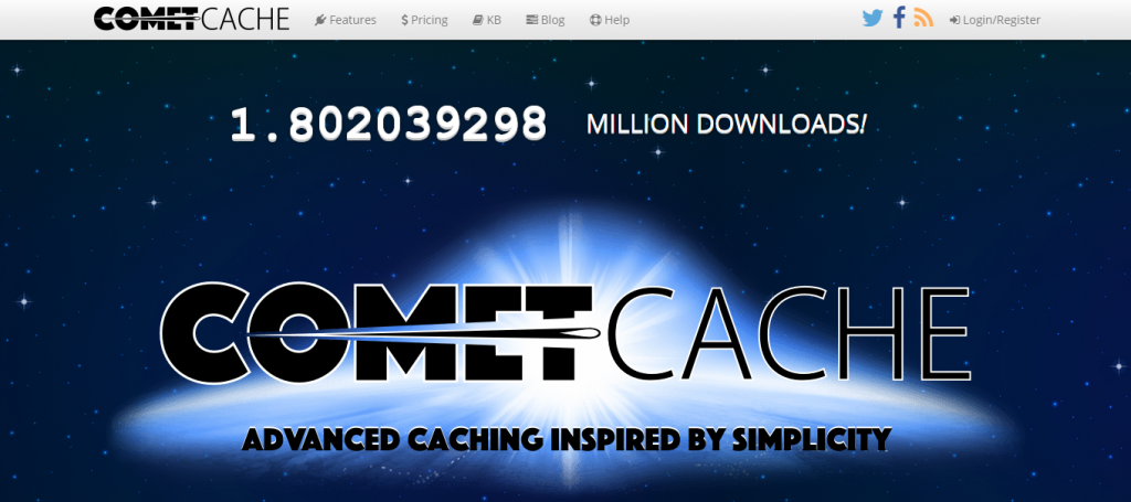 comet cache wordpress caching plugin