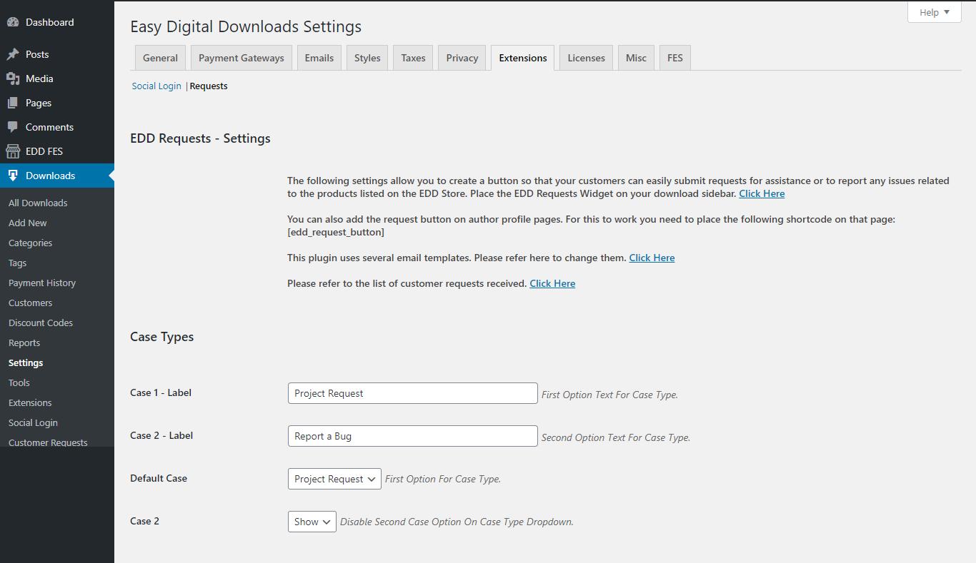 Configure the plugin settings.