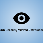EDD Recently Viewed Products